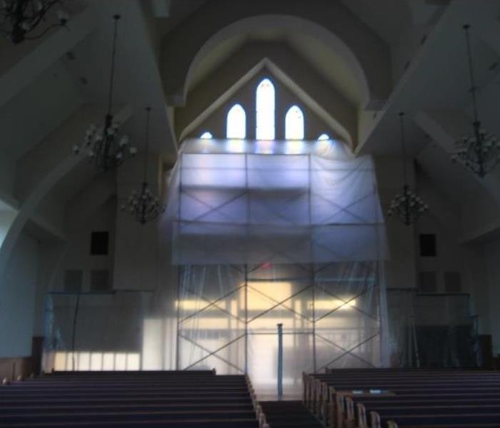 A brand new church and mold! After