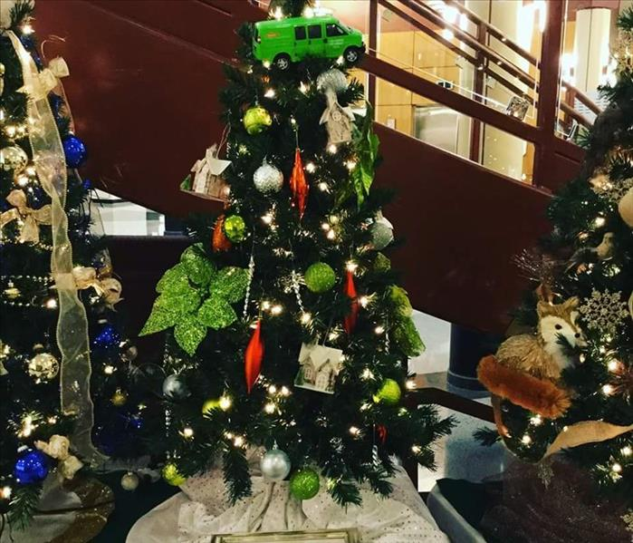 SERVPRO of Elgin at Festival of Trees