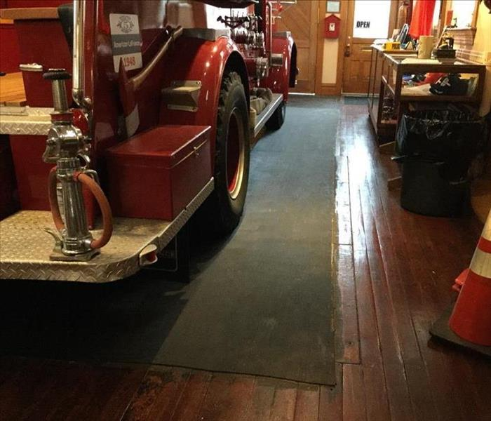 Elgin Fire Dept Museum and SERVPRO!