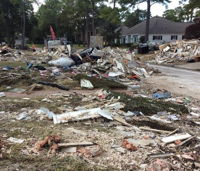 Hurricane cleanup