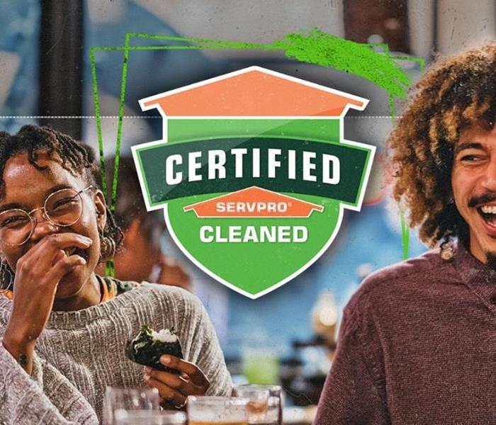 Make your customers feel at ease with Certified: SERVPRO Cleaned