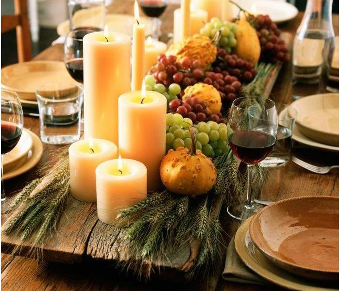 Fall decor can pose a fire risk